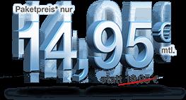 Paketpreis* nur 14,95 € mtl. statt 19,95 €