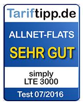 LTE 3000 - sehr gute Allnet-Flat