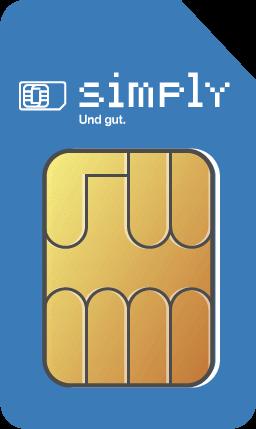 simplytel LTE 20000 - 19,99 EUR monatlich - Vertragslaufzeit: 1 Monat