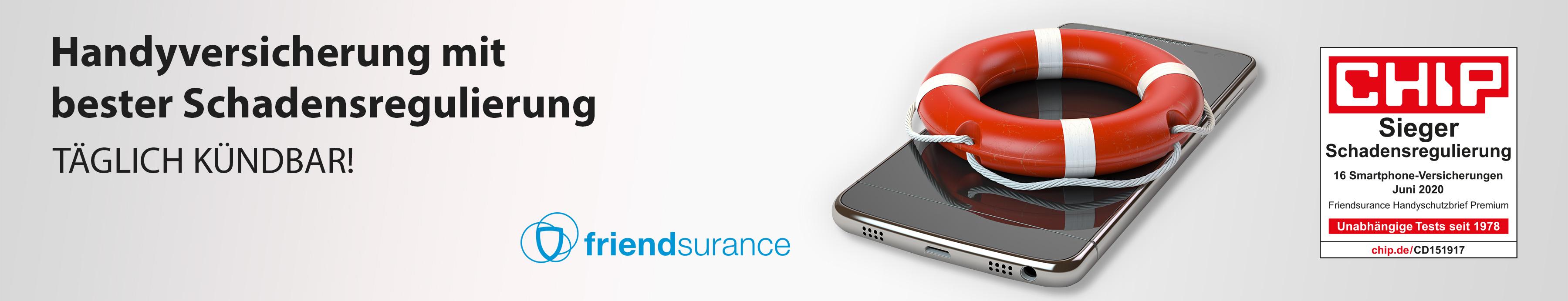 Handyversicherung mit bester Schadensregulierung