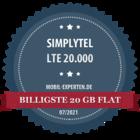 Billigste 20 GB Flat - mobil-experten.de