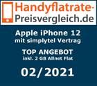 Apple iPhone 12 mit simplytel Vertrag - Handyflatrate-Preisvergleich.de