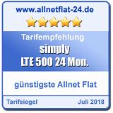 LTE 500 24 Monate - allnetflat-24.de