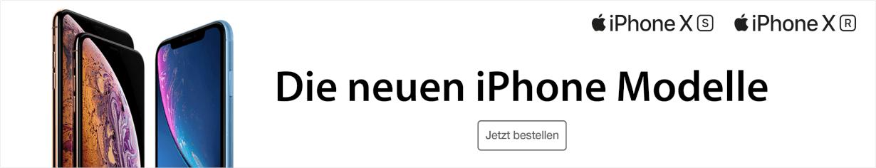 Die neuen iPhone Modelle - iPhone XS und iPhone XR - jetzt vorbestellen