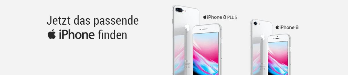 Jetzt das passende iPhone finden.