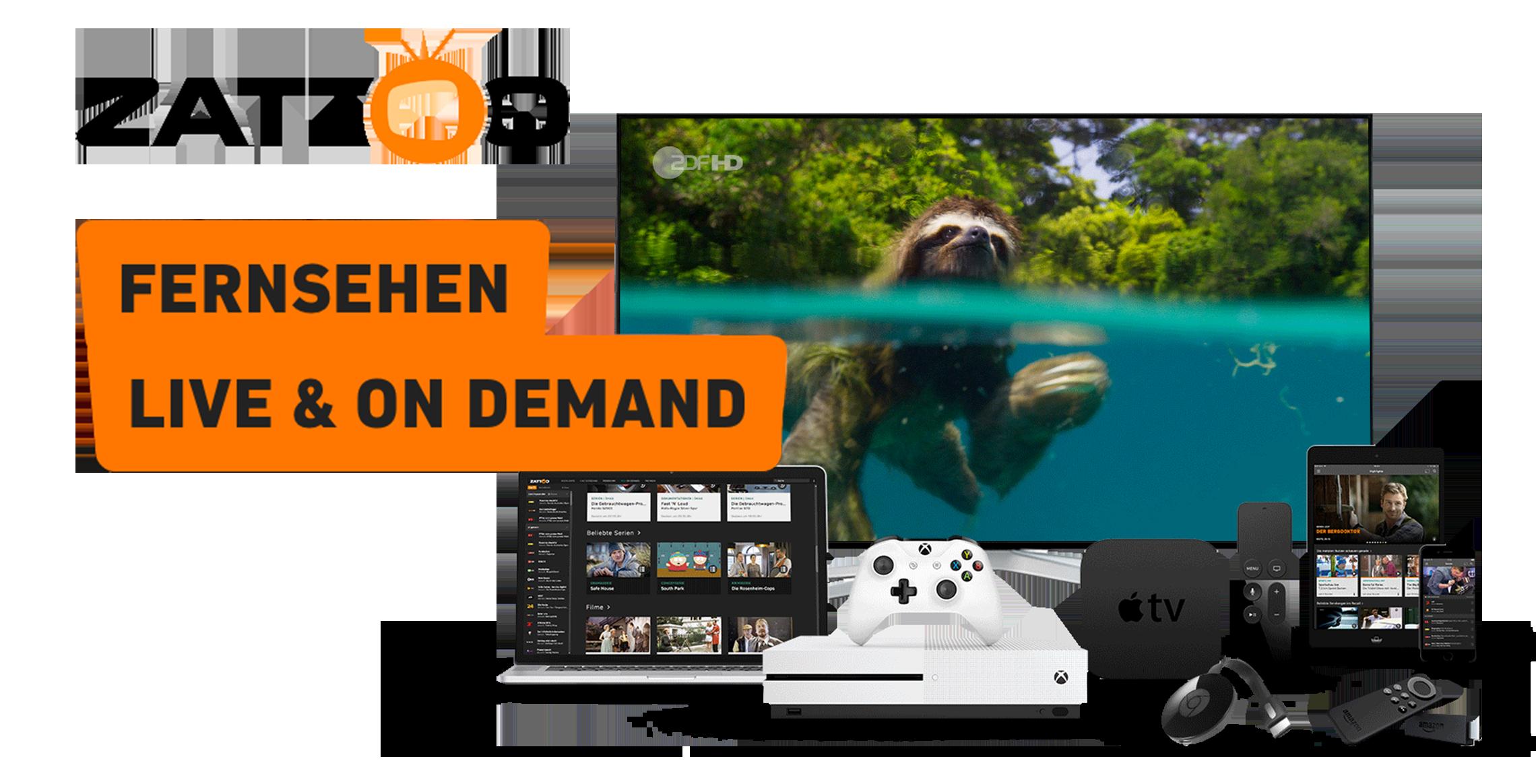 Zattoo - Online Fernsehen