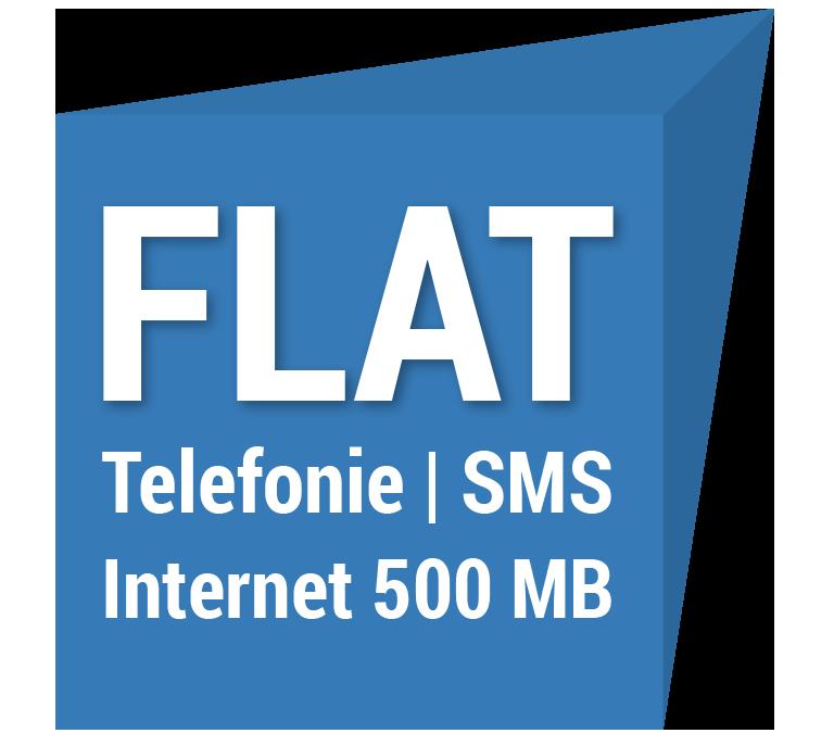 FLAT Telefonie Internet 500 MB