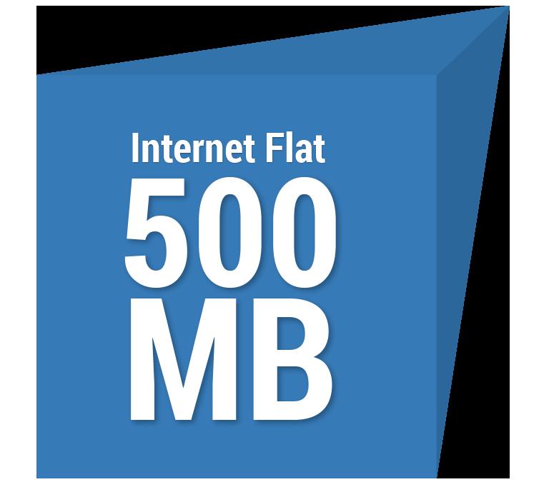 Internet Flat 500 MB